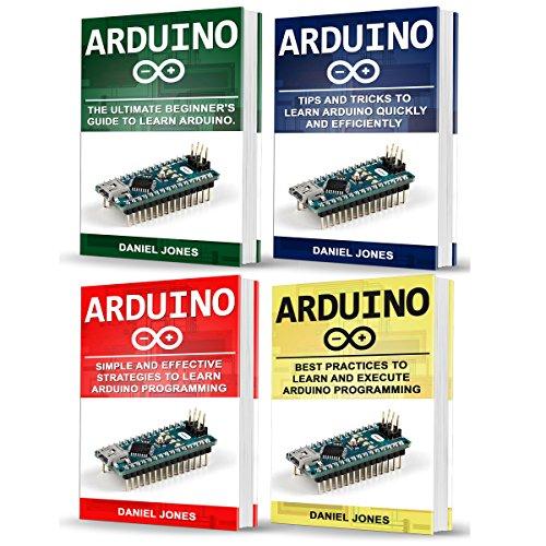 Page de couverture de Arduino Books: 4 Books in 1