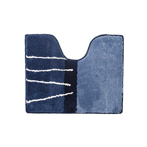 Sealskin Matches, Tapis de Contour WC, Acrylique, 45 x 55 cm, Bleu