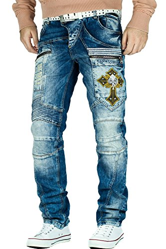 Cipo & Baxx Herren Jeans W34/L34