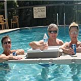 Floats a Coleman Party Stacker 25 or 33 Quart Cooler (NOT INCLUDED) Without Tipping Connectable to Create Unlimited Sizes and Shapes Great for Float Trips Perfect for Pools Ideal on Lakes
