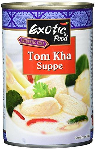 Exotic Food Tom Kha Suppe, servierfertig, 6er Pack (6 x 400 ml Dose)