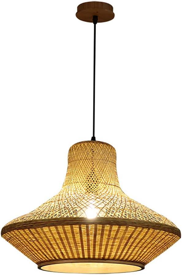 LIWENGZ Nordic Minimalist Rattan Bamboo Per Lamp specialty shop Hanging Fixture unisex