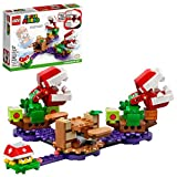 LEGO Super Mario Piranha Plant Puzzling Challenge Expansion Set 71382 Building Kit; Unique Toy for Creative Kids, New 2021 (267 Pieces)