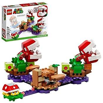 LEGO Super Mario Piranha Plant Puzzling Challenge Expansion Set 71382 Building Kit  Unique Toy for Creative Kids New 2021  267 Pieces