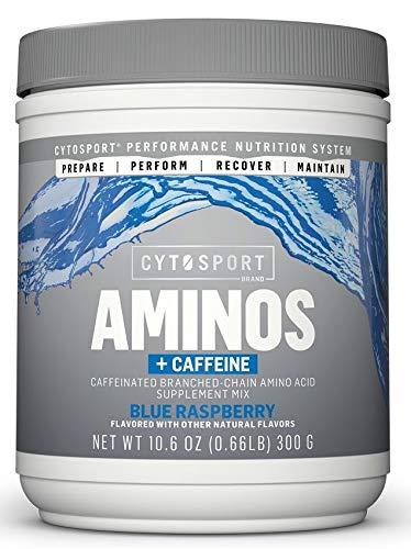 Cytosport Aminos +Caffeine Blue Raspberry Ohne Pfand, 300 g