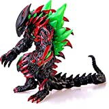 ZAVR Godzilla Figure King of The Monsters, 13,5 inch from Head - to - Tail, 8 inch Tall, Movable Joints Action Movie Series Soft Vinyl, Carry Bag