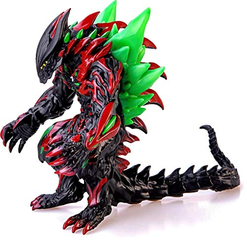 ZAVR Godzilla Figure Ultra Monster King of The Monsters, 13,5 inch from Head - to - Tail, 8 inch Tall, Carry Bag