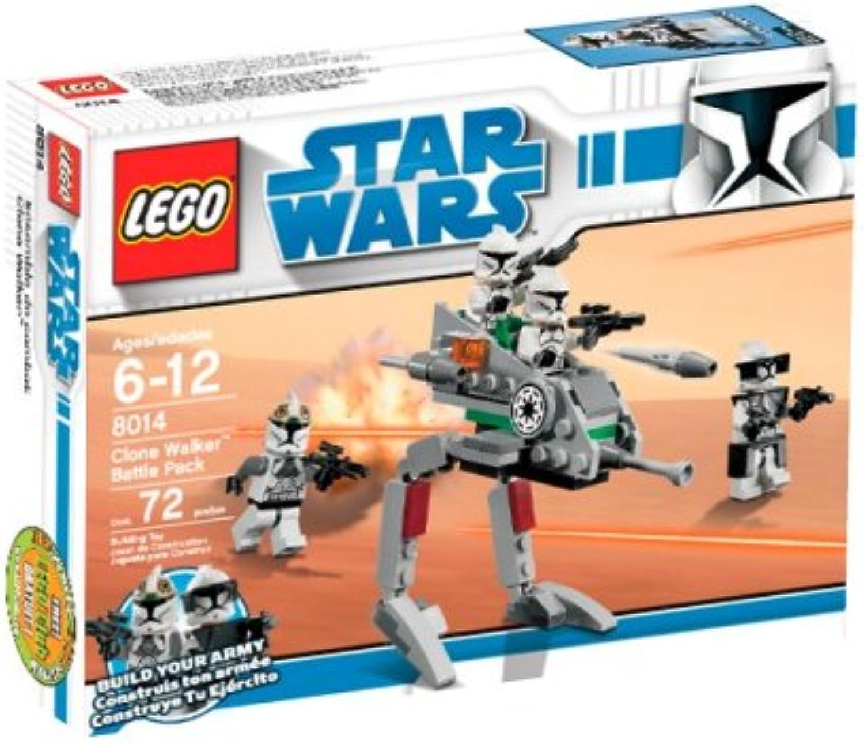 barato y de alta calidad LEGO LEGO LEGO Estrella Wars Clone Walker Battle Pack (8014) (Discontinued by manufacturer)  te hará satisfecho