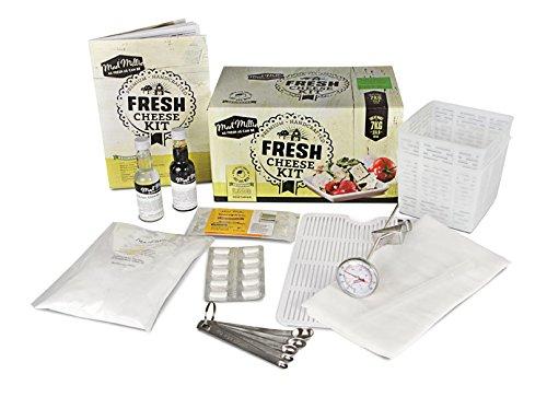 Kit Fromage Frais - Ingrédients + Équipement | Permet la Fabrication de 7kg de Fromage