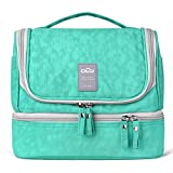 Designer Hanging Toiletry Bag  Travel Cosmetics Bag by HANKCLES  Waterproof Nylon Organizer for Travel Accessories   Toiletry Kit for Men and Women
