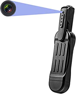 超小型カメラ スパイカメラ 1080P 1200万画素 隠しカメラ クリップペン型 5.5時間連続稼働 充電しながら録画可能 ウェアラブル TV OUT 32GB対応