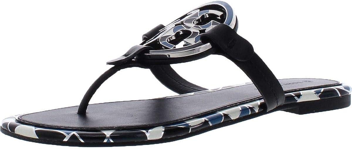 Tory Burch Safety and trust 4 years warranty Women's Enamel Miller Sandals