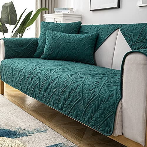 Mrzyzy Funda Sofa 3/4/2/1 Plazas Serie Gofrado Tridimensional Fundas de Sofa Ajustables Fundas Decorativa para Sofá Sueño Estampadas Universal Impresa Cubre Sofa (Color : B, Size : 90 * 180CM)