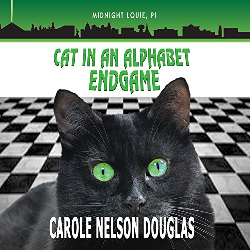 Cat in an Alphabet Endgame     The Midnight Louie Mysteries, Book 28              By:                                                                                                                                 Carole Nelson Douglas                               Narrated by:                                                                                                                                 Cris Dukehart,                                                                                        Johnny Heller                      Length: 10 hrs and 2 mins     9 ratings     Overall 4.1