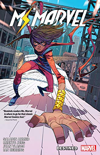 Ms. Marvel by Saladin Ahmed Vol. 1: Destined (Magnificent Ms. Marvel (2019-)) (English Edition)