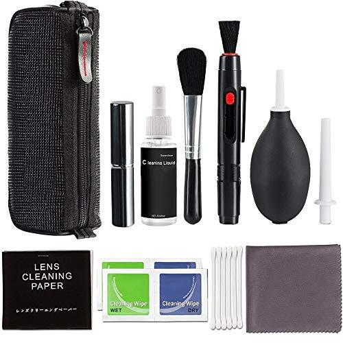 DEtrade SLR Digital Kamera Reinigungsmittel Linse Reinigung Schutz Werkzeug Professionelles DSLR Objektivkamera Reinigungsset/Sprühflaschen Objektivstift Bürstengebläse (A)
