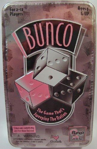 Bunco Dice Game in Tin Box by Cardinal Industries Inc