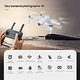 Drone RC avec caméra GPS Grand Angle Réglable 4K WiFi Gesture Photo Vidéo MV FPV RC Quadcopter Follow Me Drone pour Adultes 2 Batterie