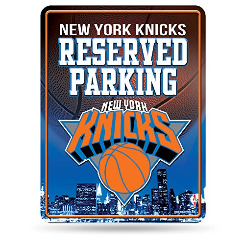 Générique NBA Haute résolution en métal de Parking Sign, Knicks de New York