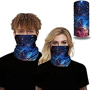 Seamless Bandana Face Mask Women Men for Dust Wind Sun Protection