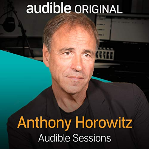 Anthony Horowitz audiobook cover art