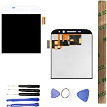 JayTong LCD Display & Replacement Touch Screen Digitizer Assembly with Free Tools for BlackBerry Classic Q20 White