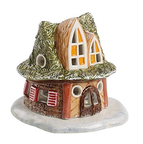 Villeroy & Boch 1486315440 Mini Christmas Village Casetta dei Sette Nani, Verde, 10 x 10 x 9 cm