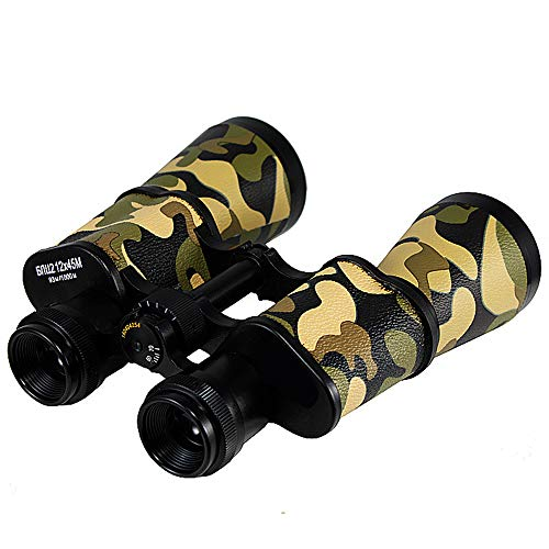Binoculares de la NBWS, prismáticos Plegables HD diseño Compacto 12 x 45 Mini telescopio para el fútbol Safari Tour Escalada conciertos Deportes Senderismo Camping y Viajes