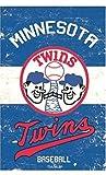 Stockdale Minnesota Twins EG Vintage GARDEN Flag Premium 2-sided Retro Banner Baseball