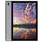 Blackview Tab9 4G LTE + WiFi Tablet mit 10,1'' FHD, Android 10, 4GB RAM + 64GB ROM, 128GB erweiterbar, Octa-Core, 7480mAh Akku, 13MP + 5MP, 1920 * 1200, GPS/Bluetooth/Face ID/OTG-Grau