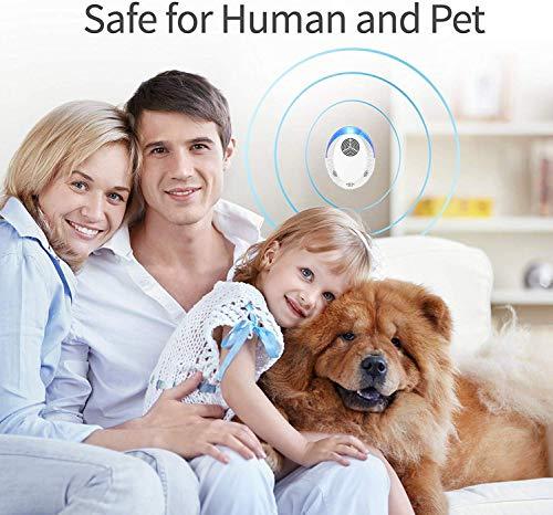 KedBrok Repellente Ultrasuoni 4 Pack, Antizanzare Ultrasuoni Repellente per Insetti Ultrasuoni per Topi Anti Zanzare, Topi, Scarafaggi, Insetti, Ratti, Ragni, Formiche, Insetti, Roditori