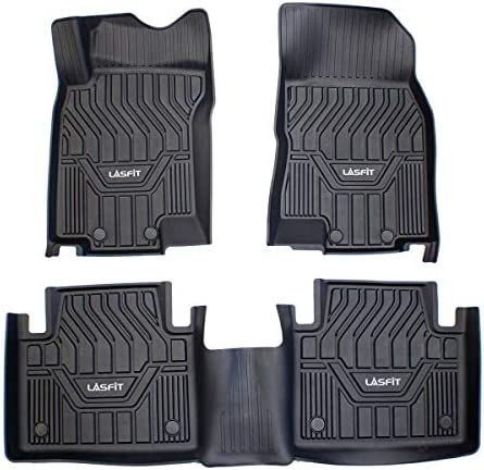 LASFIT Floor Mats Custom Fit for 2014 2020 Nissan Rogue Not Sport Select All Weather TPE Car product image