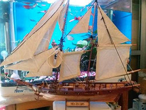 MADOUR Modellbausatz Schiff Schiffsmodell Model Maßstab 1/100 Holzsegelbootbausätze 1840 Schiffsmodell Lasergeschnittenes Schiffsmodell Aus Holz
