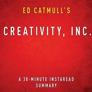 Ed Catmull's Creativity, Inc. cover art
