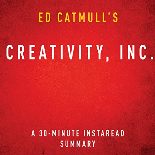 Ed Catmull's Creativity, Inc. audiobook cover art