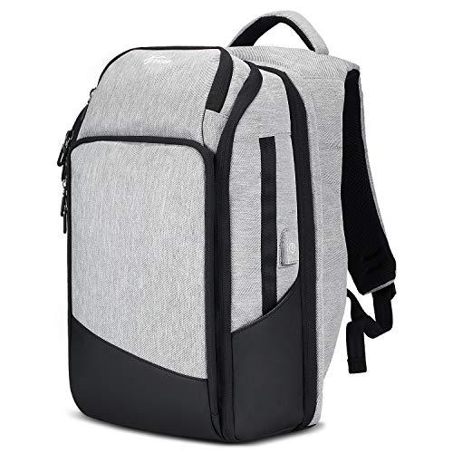Fresion Reise Laptop Rucksack Damen Herren, Schulrucksack Für Jungen Mädchen Teenager, Business Laptoptasche 15.6 Zoll Notebook mit USB-Ladeanschluss Praktischer Reiserucksack
