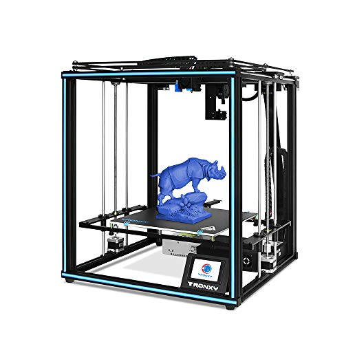 X5SA PRO 3D Printer with Titan, Core XY Structure with OSG External Dual-axis Guide, 30P Integrated Cable, Safe for Home and Industrial Use