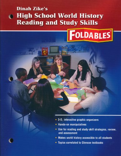 Dinah Zike's High School World History Reading and Study Skills, Foldables