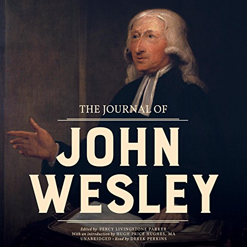 The Journal of John Wesley audiobook cover art