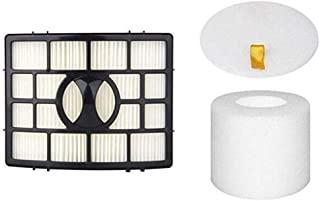 JJSS NV650 NV750 Filters for Shark Rotator Powered Lift-Away Vacuum NV650, NV650W, NV651, NV652, NV750, NV750W, NV751, NV752, NV831, NV835, AX950, AX951 & AX952 Vacuums. Replaces Part # XFF650 & XHF65