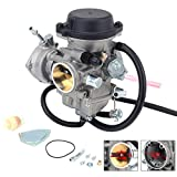 JFG RACING - Carburador ATV KFX 400 para Kawasaki KFX400 2004 2005 2006 Quad