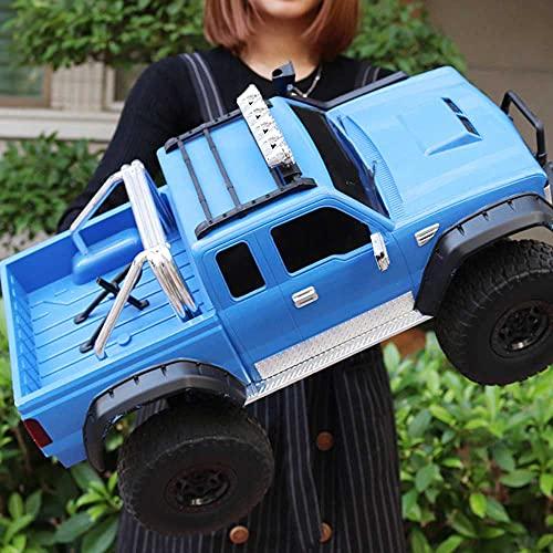 LQZCXMF Camión A Escala 1: 8 Coche De Control Remoto Coche De Alta Velocidad para Escalar Colinas A La Deriva El Coche De Control Remoto De Carga Bigfoot Favorito para Los N