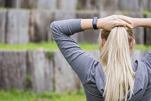Garmin vívosmart HR Fitness-Tracker – integrierte Herzfrequenzmessung am Handgelenk, Smart Notifications, Schwarz, M – L (13,7-18,8 cm) - 9