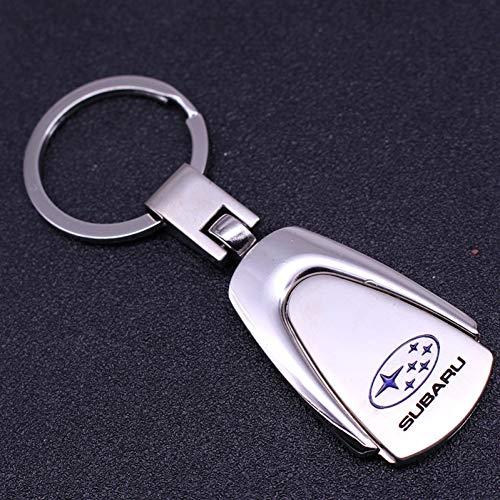 ASTAOT Portachiavi,Ciondolo Regalo Personalizzato Vari Portachiavi per Badge Subaru Portachiavi in Metallo per Uomo E Donna Accessori per Auto Appesi in Vita