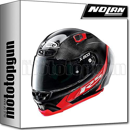 MOTOTOPGUN X-LITE BY NOLAN MOTORRAD INTEGRALHELM X-803 ULTRA CARBON RS HOT LAP 013 SZ. M