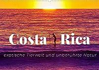 Costa Rica - exotische Tierwelt und unberuehrte Natur (Wandkalender 2022 DIN A2 quer): Costa Ricas Schoenheit in all seinen Facetten (Monatskalender, 14 Seiten )