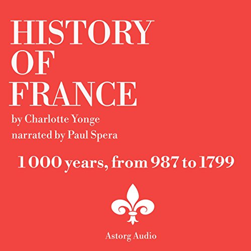 History Of France, 1000 years audiobook cover art
