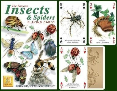Insects & Spiders Playing Cards by Heritage Playing Card Company