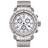 Joe Rodeo diamante da uomo orologio - APOLLO argento 1,7 CTW