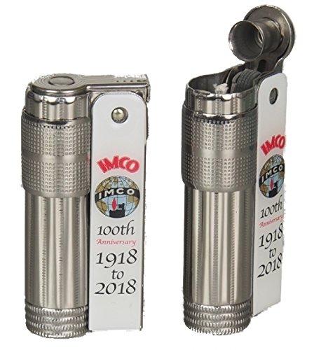 Lifestyle-Ambiente IMCO Feuerzeug Super-Triplex Oil White 100 Anniversary